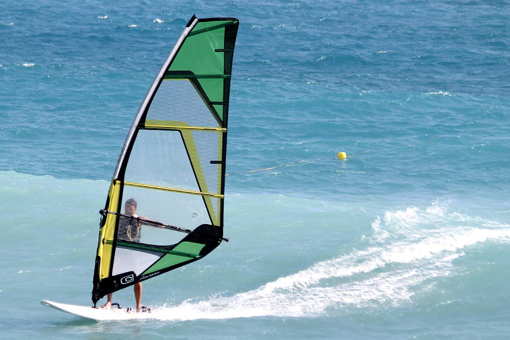 Windsurfing in Bordighera