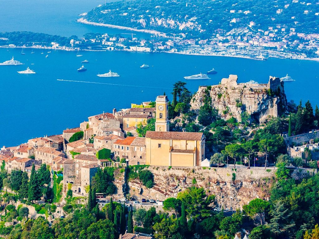 Eze Village, the most stunning Panorama on the Cote d'Azur