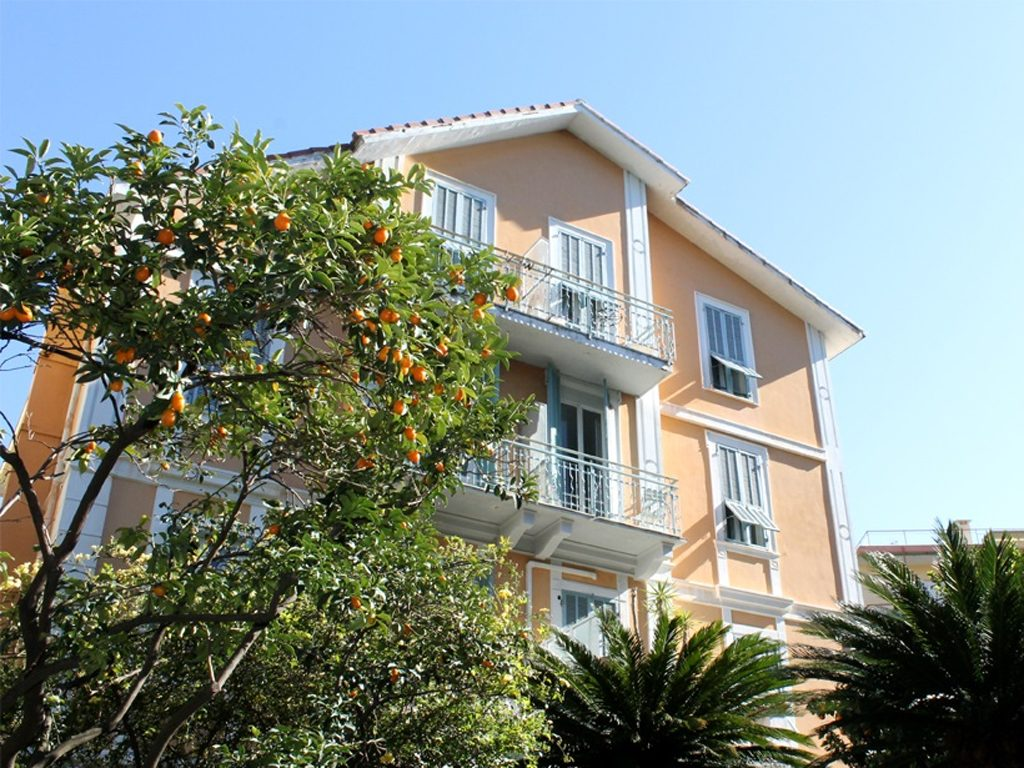 Oranges can be spotted all over Bordighera