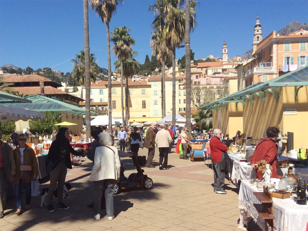 Menton Antique Flea Market