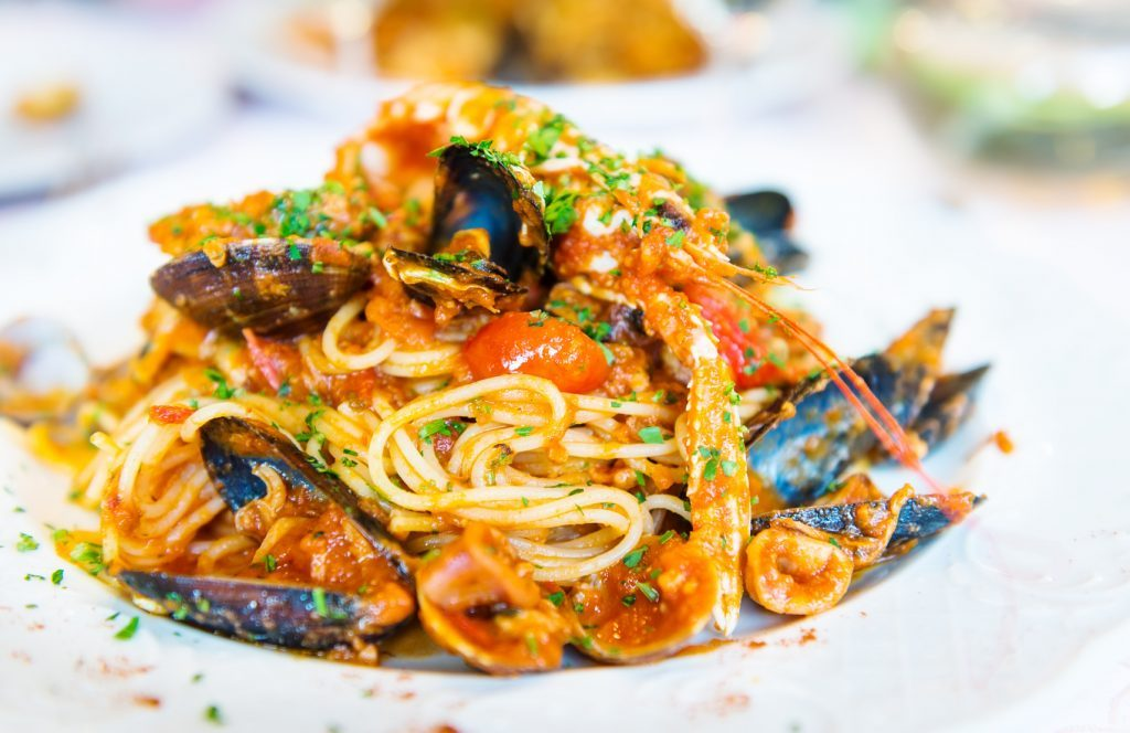Frutti di Mare - Seafood fresh from the Mediterranean Sea